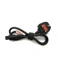 Laptop Power Cable 3Pin With Earth 90cm