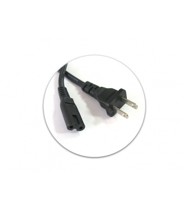 Laptop Power Cable 2Pin USA Plug New