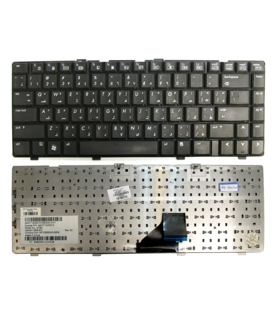 Keyboard (NB) HP DV6-5000 New